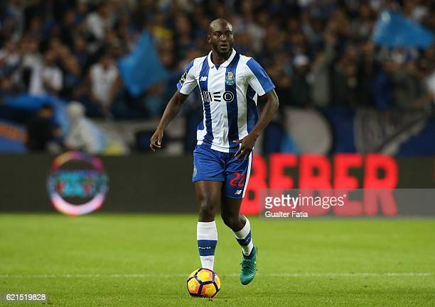 Porto's midfielder Danilo Pereira in action during the Primeira Liga match between FC Porto and SL Benfica at Estadio do Dragao on November 6 2016 in...