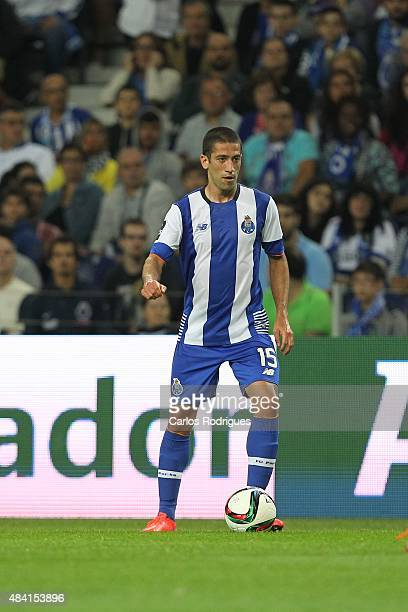 Porto's midfielder Evandro during the match between FC Porto and Vitoria Guimaraes for the Portuguese Primeira Liga at Estadio do Dragao on August 15...