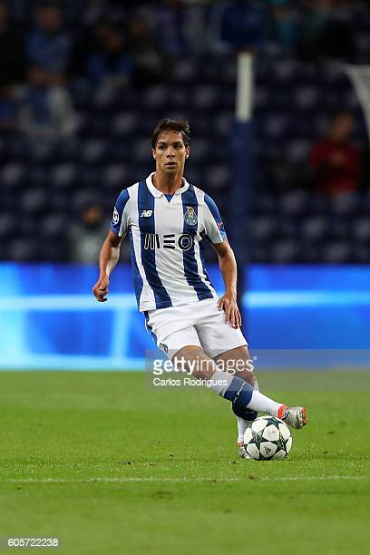 Porto's midfielder from Spain Oliver Torres during the UEFA Champions League match between FC Porto v FC Copenhagen at Estadio do Dragao on September...