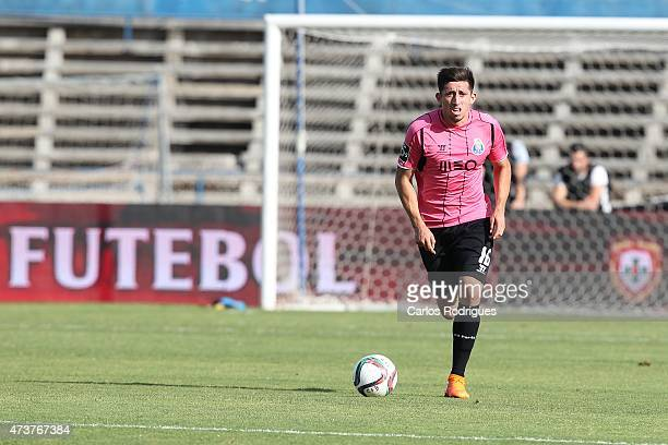 Porto's midfielder Hector Herrera during the Primeira Liga match between Belenenses and FC Porto at Estadio do Restelo on May 17 2015 in Lisbon...