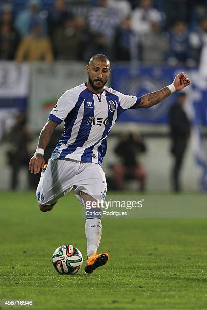 Porto's midfielder Quaresma during the Portuguese First League match between GD Estoril Praia and FC Porto at Estadio Antonio Coimbra da Mota on...