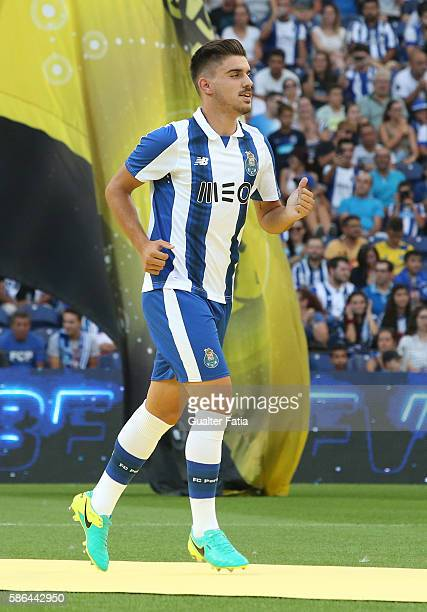 Porto's midfielder Ruben Neves during FC Porto's team presentation before the start of the PreSeason Friendly match between FC Porto and Villarreal...