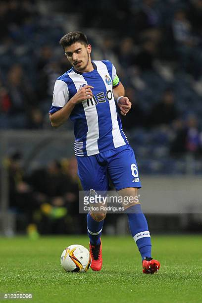 Porto's midfielder Ruben Neves during the Champions League match between FC Porto and Borussia Dortmund for UEFA Europa League Round of 32 Second Leg...