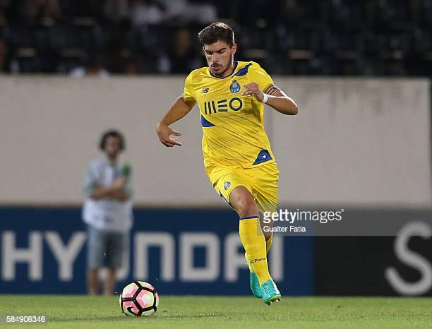 PortoÕs midfielder Ruben Neves in action during the Guimaraes City Trophy match between Vitoria de Guimaraes and FC Porto at Estadio D Afonso...