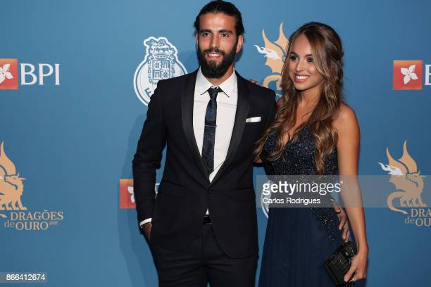 Porto's midfielder Sergio Oliveira from Portugal and guest attends FC Porto Gala Dragoes de Ouro 2016 2017 at Dragao Caixa on October 25 2017 in...