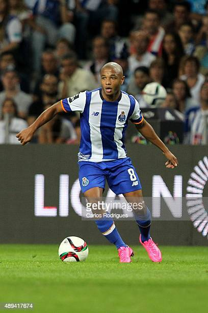 Porto's midfielder Yacine Brahimi during the match between FC Porto and SL Benfica for the Portuguese Primeira Liga at Estadio do Dragao on September...