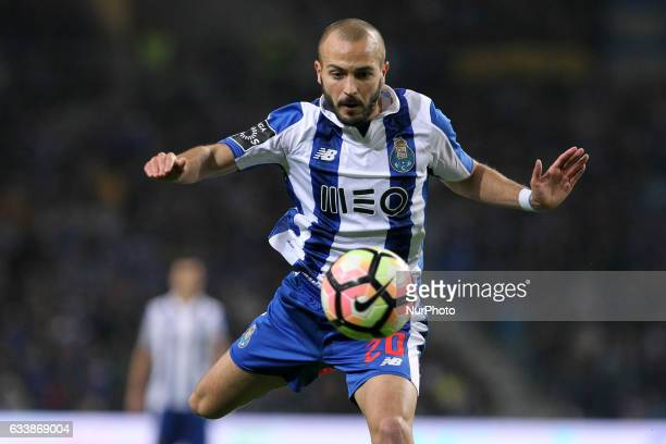 Porto's Portuguese midfielder Andre Andre during the Premier League 2016/17 match between FC Porto and Sporting CP at Dragao Stadium in Porto on...