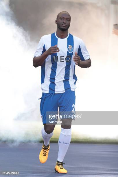 Porto's Portuguese midfielder Danilo Pereira during the preseason friendly between FC Porto and Deportivo da Corunha at Dragao Stadium on July 30...