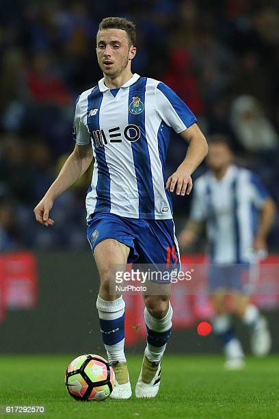 Porto's Portuguese midfielder Diogo Jota during Premier League 2016/17 match between FC Porto and FC Arouca at Dragao Stadium in Porto on Octuber 22...