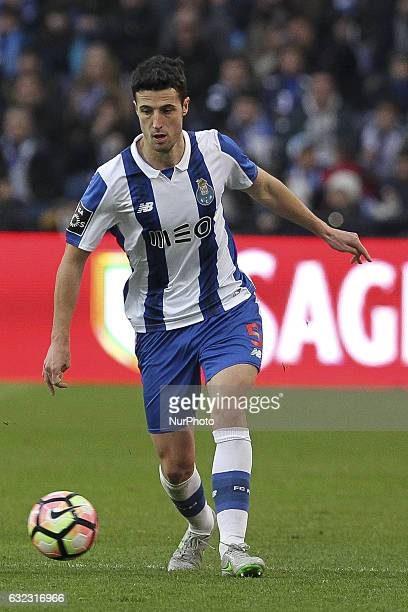 Porto's Spanish defender Ivan Marcano during the Premier League 2016/17 match between FC Porto and Rio Ave at Dragao Stadium in Porto on January 21...