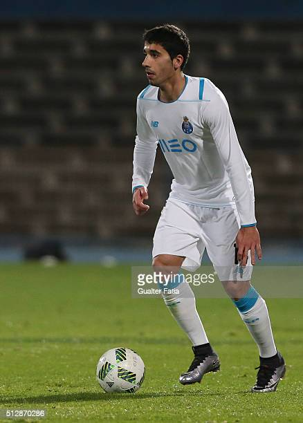 Porto's spanish defender Jose Angel in action during the Primeira Liga match between Os Belenenses and FC Porto at Estadio do Restelo on February 28...