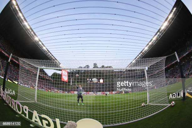 Porto's Spanish goalkeeper Iker Casillas in action during the Premier League 2016/17 match between SC Braga and FC Porto at Municipal de Braga...