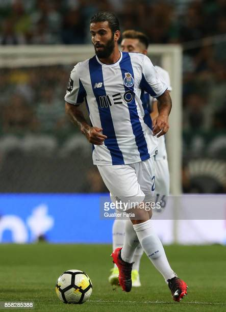 Porto'u2019s midfielder Sergio Oliveira from Portugal in action during the Primeira Liga match between Sporting CP and FC Porto at Estadio Jose...