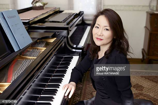 Portrait at the piano