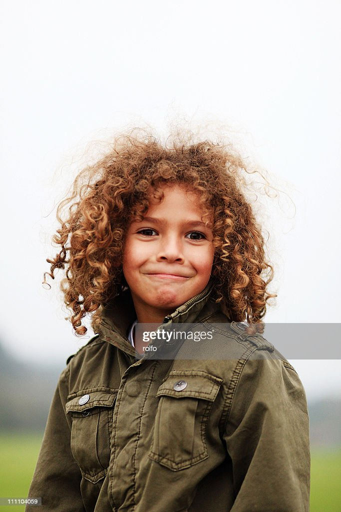 Portrait boy : Stock Photo