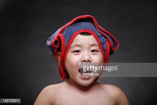 Portrait boy : Stock Photo