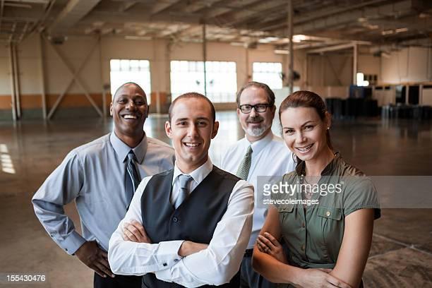 Porträt Geschäft Personen