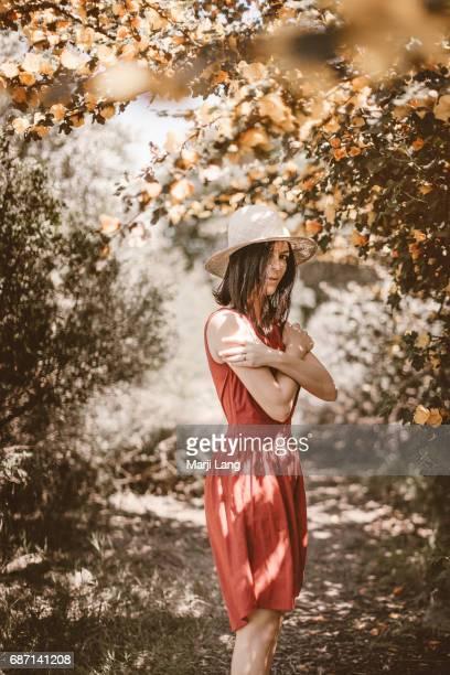 Portrait by the flannelbush San Jose California USA