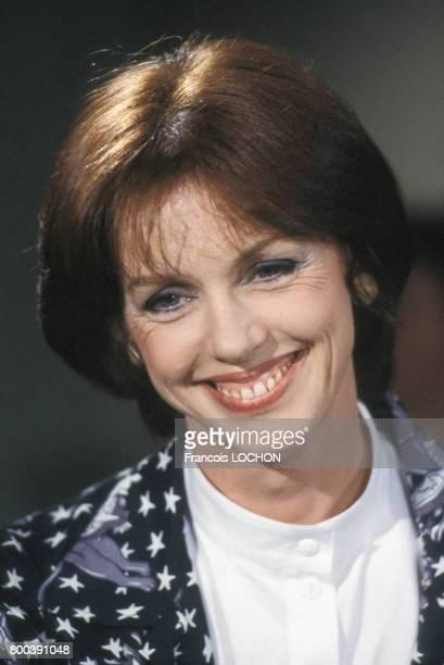 Portrait d'Anny Duperey le 25 avril 1986 à Paris en France