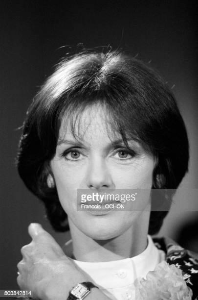 Portrait d'Anny Duperey le 25 avril 1986 à Paris France