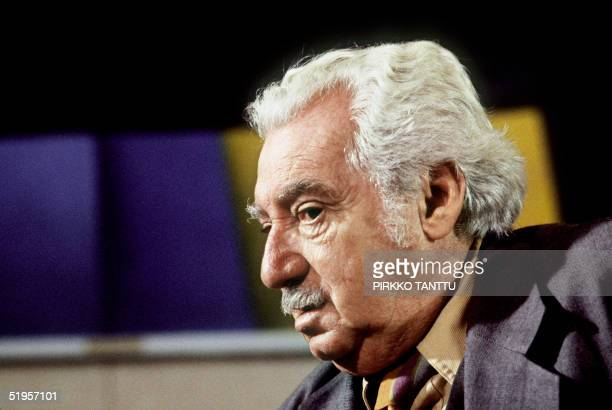 Portrait dated 22 October 1982 of Brazilian author Jorge Amado taken during his visit to Finland AFP LEHTIKUVA PHOTO PIRKKO TANTTU
