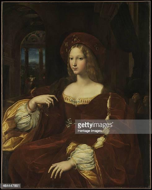 Portrait de Dona Isabel de Requesens vicereine de Naples ca 1518 Found in the collection of the Louvre Paris
