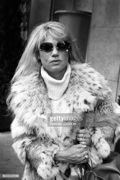 Portrait de Dyan Cannon actrice en novembre 1976 à Paris France