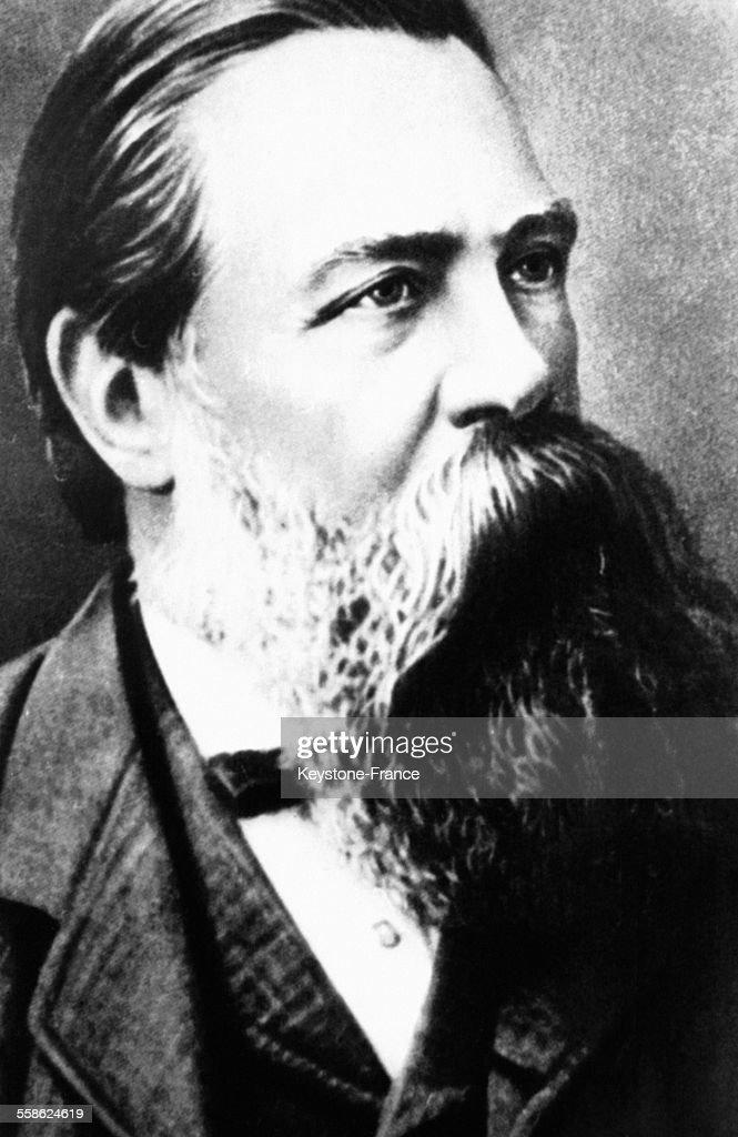 Portrait de Friedrich Engels