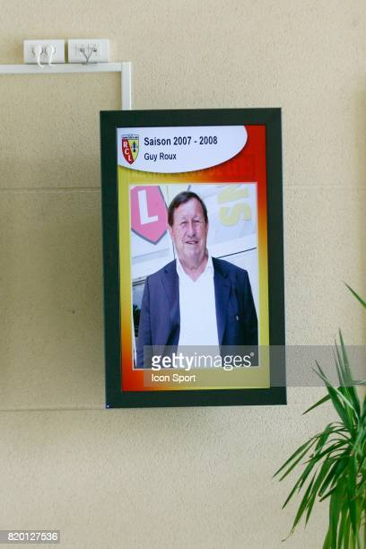 Portrait de Guy ROUX Reprise de l'entrainement du RC Lens La Gaillette Avion Saison 2007/2008