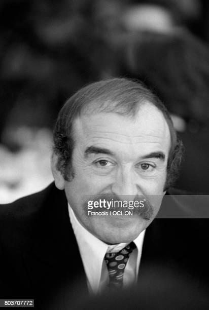 Portrait de Jean Sas animateur de radio et humoriste en septembre 1976 à Paris France