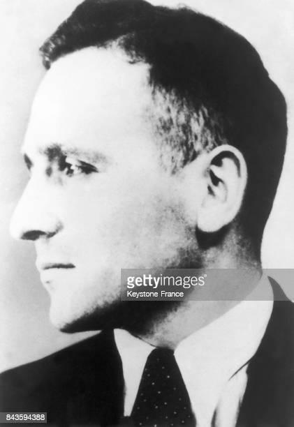 Portrait de Klaus Barbie officier allemand à la direction de la Gestapo de la région lyonnaise entre 1942 et 1944 Responsable de milliers...