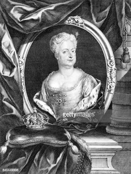 Portrait de la princesse SophieDorothée de BrunswickLunebourg