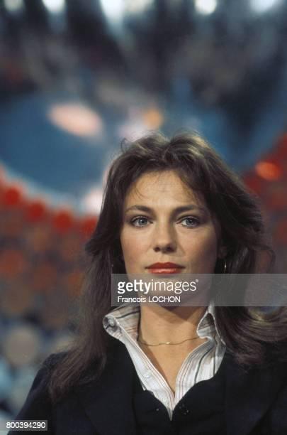 Portrait de l'actrice Jacqueline Bisset en mars 1976 en France