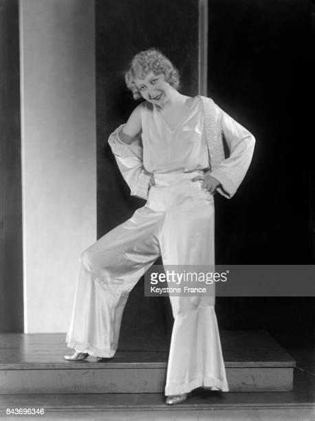 Portrait de l'actrice Moussia circa 1920