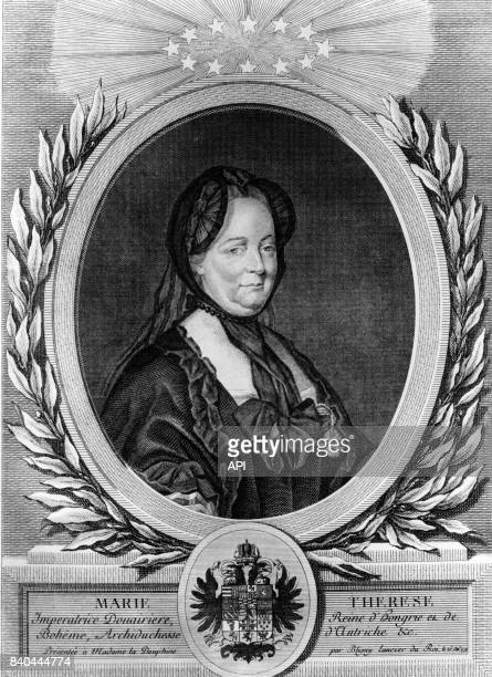 Portrait de l'archiduchesse MarieThérèse d'Autriche