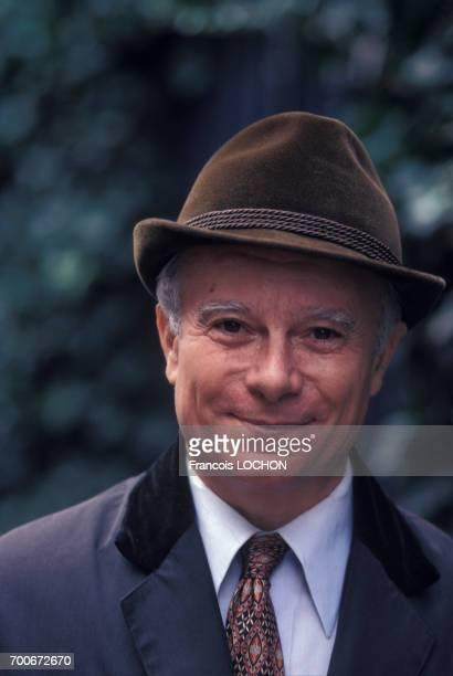 Portrait de Paul Guth écrivain en octobre 1976 à Paris France