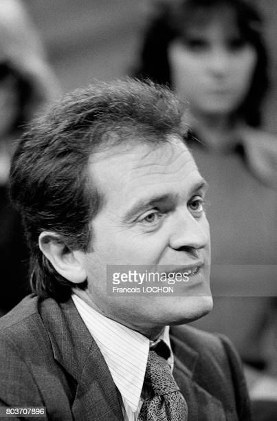 Portrait de Portrait de Philippe Labro journaliste et écrivain le 24 septembre 1976 à Paris France