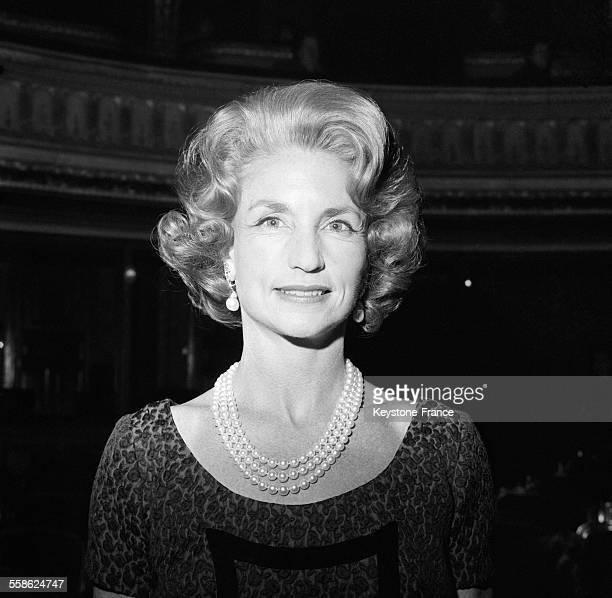 Portrait de Rebekka Harkness directrice du Harkness Ballet de New York à New York City le 12 mars 1965