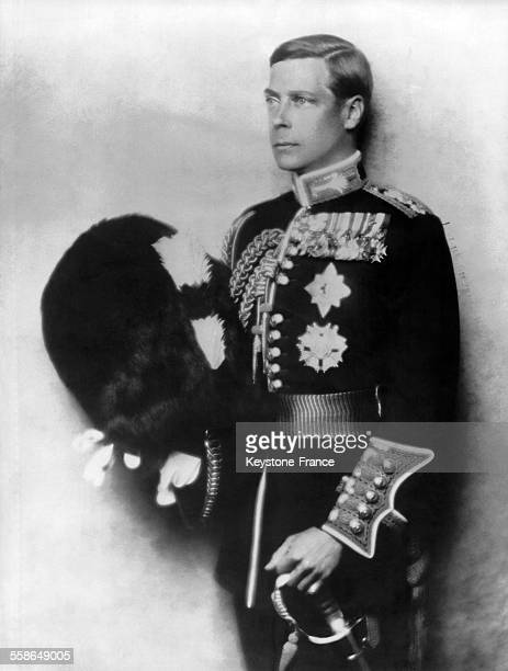 Portrait d'Edward VIII duc de Windsor en 1935 a Londres RoyaumeUni