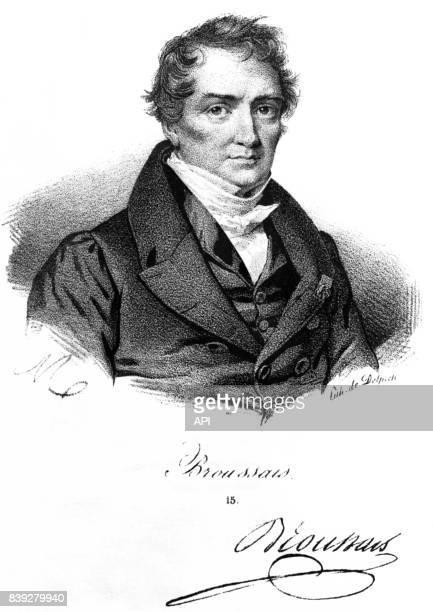Portrait du chirurgien français François Broussais