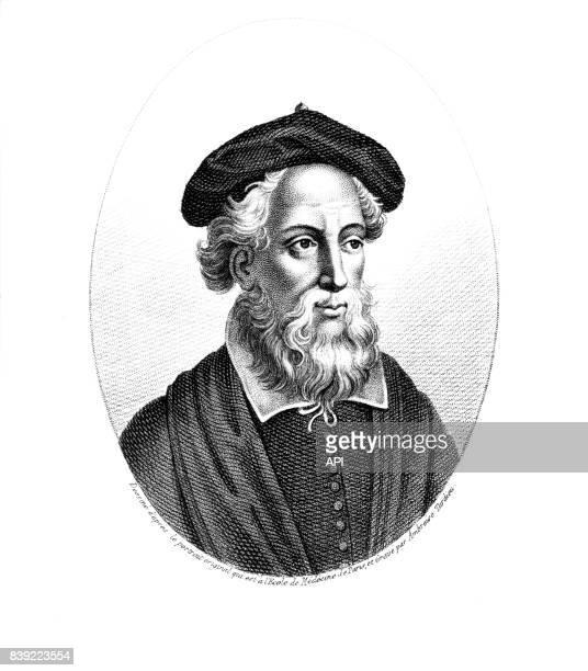 Portrait du chirurgien français Jean Pitard