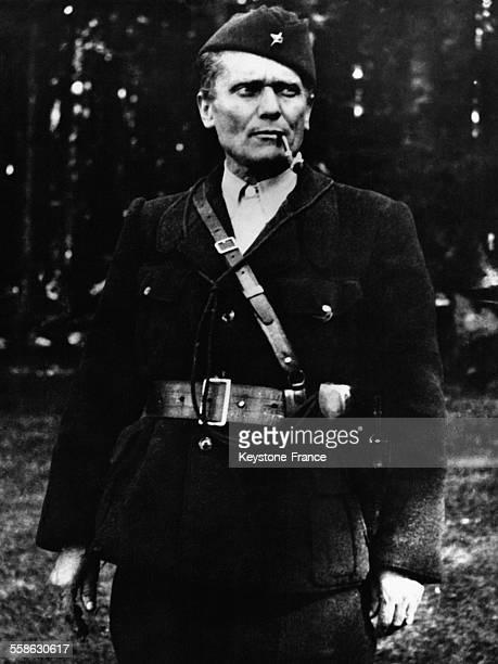 Portrait du maréchal Tito en 1942