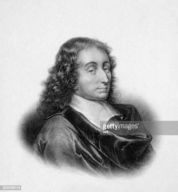 Portrait du philosophe français Blaise Pascal
