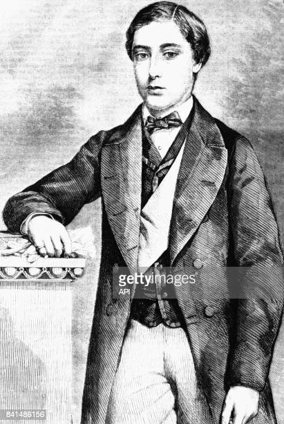 Portrait du prince de Galles Edouard futur roi Edouard VII du RoyaumeUni en 1860