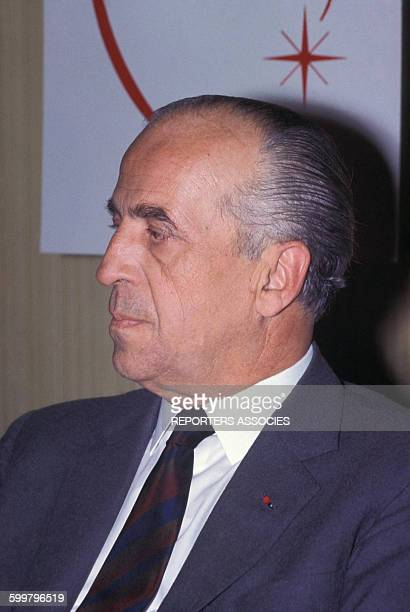 Portrait du professeur Charles Dubost chirurgien du coeur auteur de la première greffe cardiaque en Europe en 1968 circa 1960 à Paris France