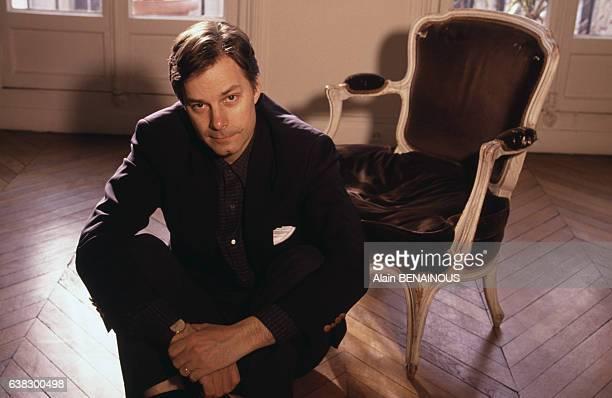 Portrait du réalisateur américain Whit Stillman le 17 janvier 1995 à Paris France