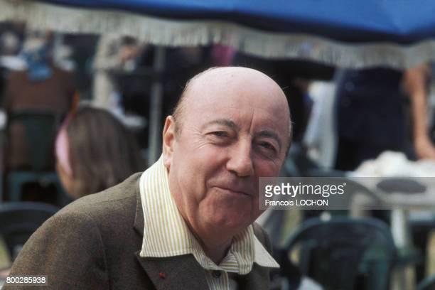 Portrait du réalisateur Marcel Carné au Festival de Deauville en septembre 1975 en France