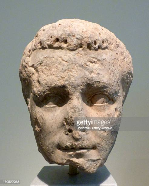 Portrait head of the emperor Caligula Pentelic marble Unknown provenance