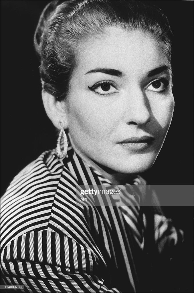 Maria callas getty images - Callas casta diva ...
