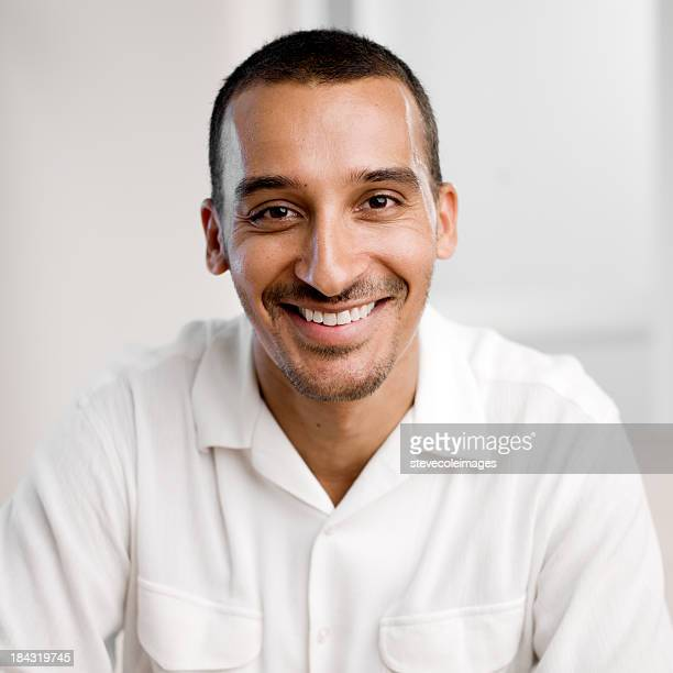 Portrait Middle Age Middle Eastern Man